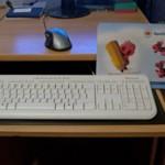 Computertastatur reinigen