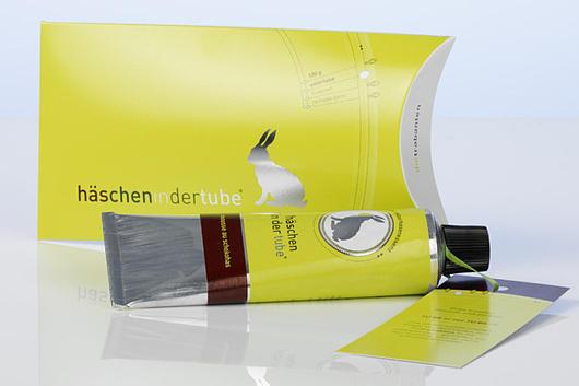 Hase aus der Tube von DESIGN-3000.de