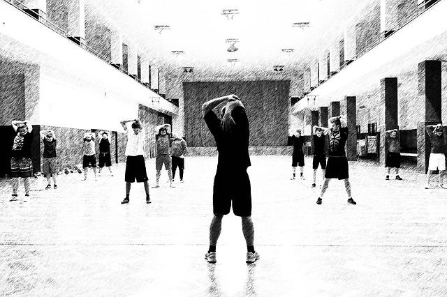 Sport im Fitnessstudio