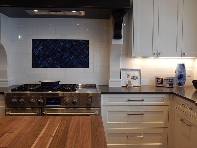 moderner Küchenofen