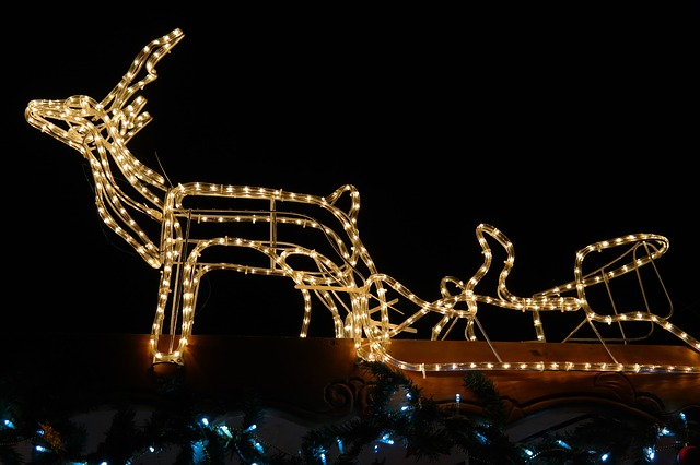 Weihnachsfiguren für Draußen
