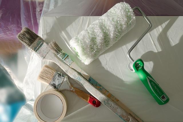 Decke richtig streichen